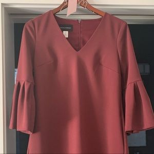 Donna Morgan maroon dress